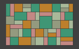 Inspired by Theo van Doesburg - Composition XVII by Manshonyagger