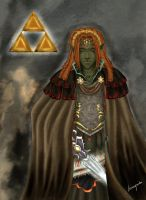 Ganondorf in his early years by Isi-Angelwings