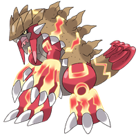 Mega Groudon by Phatmon66