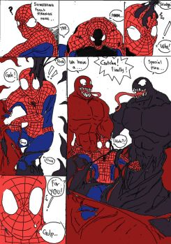 Spidey's Big Day Page 1 by haggith
