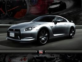 Nissan GT-R by FordGT