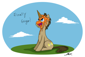 MLP - Finally Ginger! by caycowa