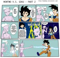 Mewtwo VS Goku - Part 2 by Wuddupz