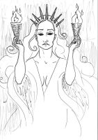 Hekate by toucansoup