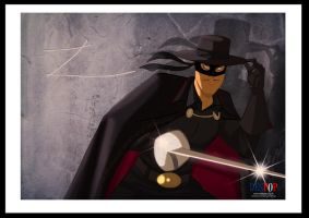 Zorro By Des Taylor by DESPOP