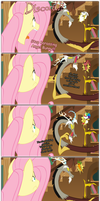 Fluttershy Means Business by grievousfan