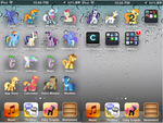MLP Ipod Touch Theme V1.0 by IoNiCSpitFire