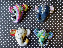 more jumbo brooches by rosieok