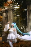 Vocaloid - Miku wedding by vaxzone