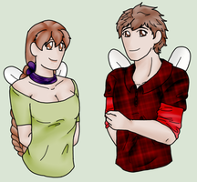 Firefly Commission Busts by AskPrincessEmia