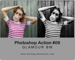Adobe Photoshop Action 09 by worthyG