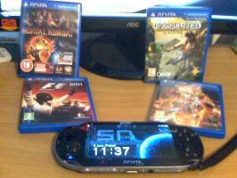 My Vita Collection by smithandcompanytoons