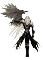 Sephiroth one winged angel by palp