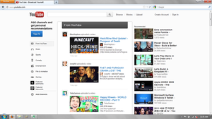 Another new YouTube Homepage by scritperkid2