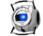 Pixel Wheatley by MintyZedGrimes