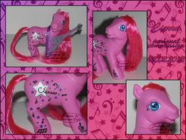 Custom My Little Pony - Cierra by stormfaerie
