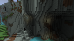 Giant Natural Cavern: Back Entrance by ASkinnyWhiteGuy