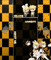 Vocaloid L n R YouTube Layout by XxSweetYoutuberxX