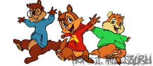 Alvin and the Chipmunks by Hero-Jaxx