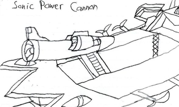 Sonic Power Cannon by LunaSurge