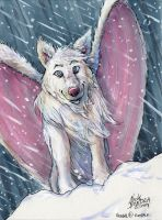 Blizzard Wolf by Phraggle