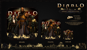 Diablo III - iPad-Style Icons by Crussong