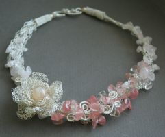Rose Garden - necklace by Bodza