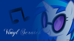 Vinyl Scratch Headshot Wallpaper by nsaiuvqart