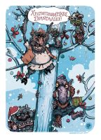 Christmas Mischief and Goblins by TheWoodenKing