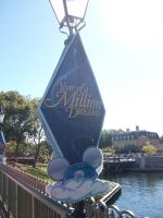 Year of a Million Dreams sign by wilterdrose-stock