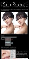 Skin Retouch Tutorial by SunFlowerButterfly