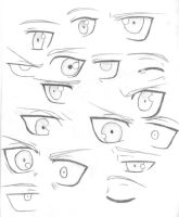 Ed Eye Practice by NayruElric