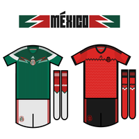 Mexico WC 2014 Kits by miicho