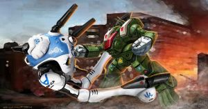 ROBOTECH RPG Tactics Hand to Hand Attacks by ChuckWalton