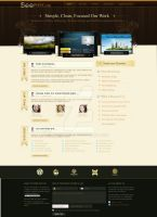 SeePHP Web Design Template by ramphool