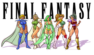 Final Fantasy Girls by firstedition