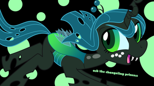 Ask the Changeling Princess wallpaper by Syggie