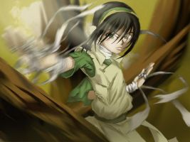 Toph: Rage of the Earth by Daniel-09