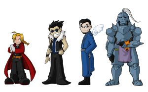 FMA, chibified by AliWildgoose