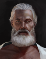 Study - old man by SineAlas