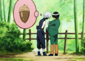 Kakashi Gai Moment by EclairDesigns