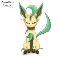 Leafeon cookie cutter build by KuroodoD