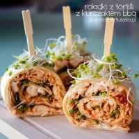 bbq chicken rolls by Pokakulka