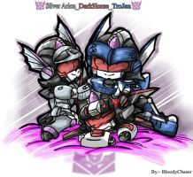 3Dcons brothers- SA.DH.TJ by BloodyChaser