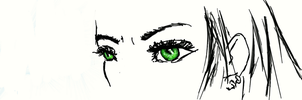 Eyes just a sketch by Gaerwing