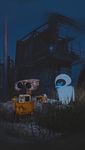 WALL-E is love. EVA - is life. by fedor65432