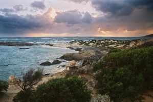 Clouds over Cape Leeuwin 3 by wildplaces