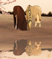 Loves Reflection by emmy1320