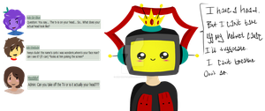 Question 4: I Can't Remove My Helmet by Ask-TheTVPrince