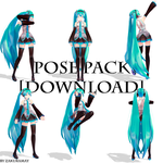 [Pose Pack Download] #6 by ZakuraMay